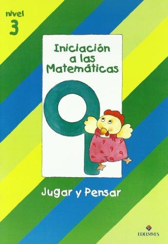 9788426335678: Iniciacion a las Matematicas nivel 3 (cuaderno 9) Jugar y pensar