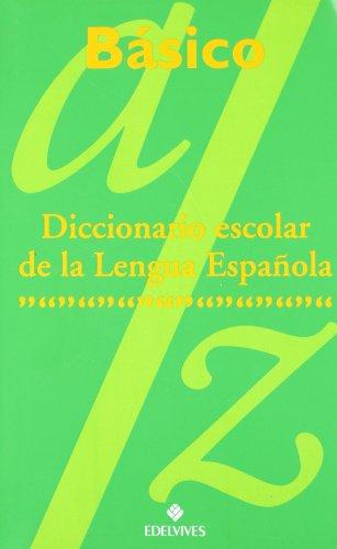 9788426342973: Diccionario Escolar Básico
