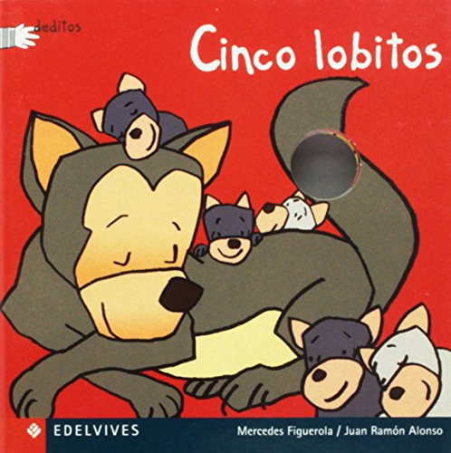 9788426347374: Cinco Lobitos/ Five Little Wolves