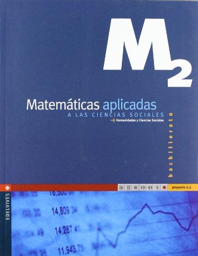 9788426349415: Proyecto 2.2, matemáticas aplicadas a las ciencias sociales, humanidades y ciencias sociales, 2 Bachillerato