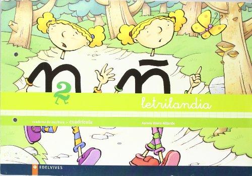 9788426355713: Letrilandia Cuaderno 2 de escritura Cuadricula