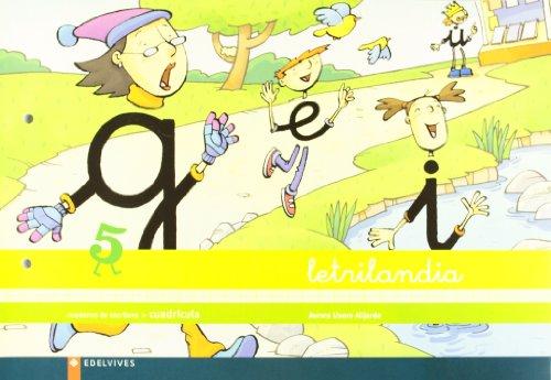 9788426355744: Letrilandia. Cuaderno de escritura 5. Cuadrícula