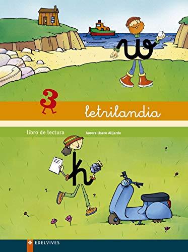 9788426355850: Letrilandia, libro de lecturas, 3 Educación Infantil