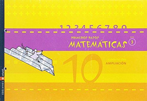 9788426356017: Matematicas Primeros pasos Nivel 3 (Cuaderno 10)