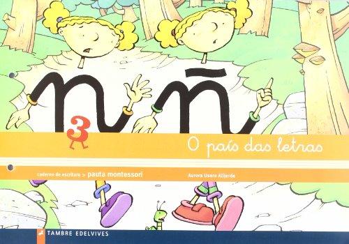 9788426357809: O pais das letras 3 Caderno de escritura (Infantil)