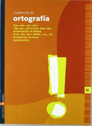 9788426358288: Lengua, Educación Primaria, 3 ciclo. Cuaderno de ortografía 12