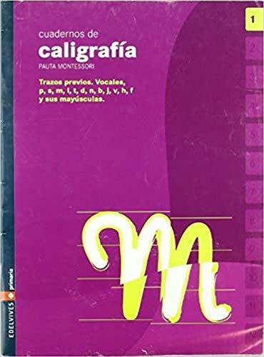 9788426358332: Cuaderno 1 de caligrafia Pauta Montessori