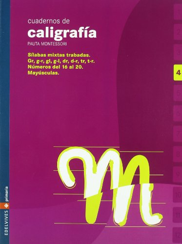 9788426358363: Cuaderno 4 de caligrafia Pauta Montessori