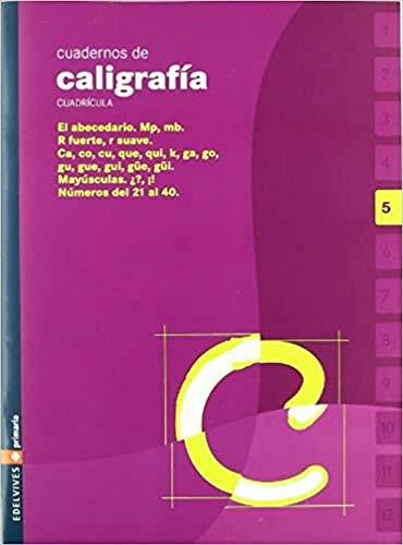 9788426358493: Cuaderno de caligrafia 5 Cuadricula (Primaria) - 9788426358493
