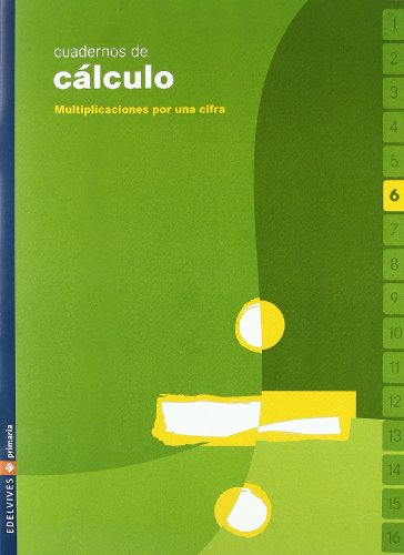 9788426358622: Cuaderno Calculo 6 05