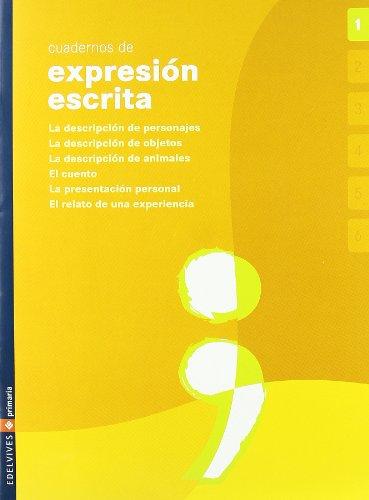 9788426360533: Lengua, Educación Primaria. Cuaderno de expresión escrita 1