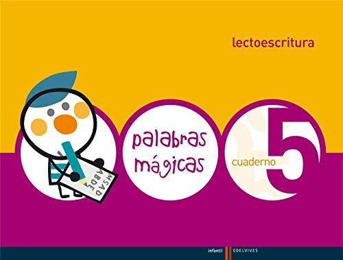9788426362551: Lectoescritura Cuaderno 5 (Palabras Magicas)