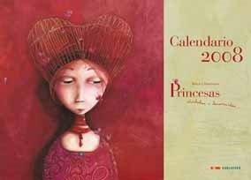 9788426364807: Calendario Princesas - 2008