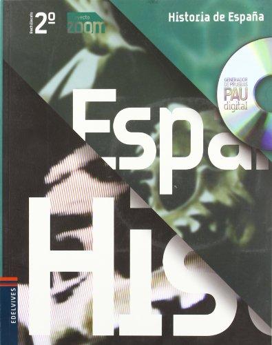 9788426369697: Historia de España 2º Bachillerato (Zoom) - 9788426369697