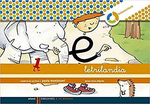 9788426371393: Letrilandia. Lectoescritura cuaderno 1 de escritura (Pauta Montessori)