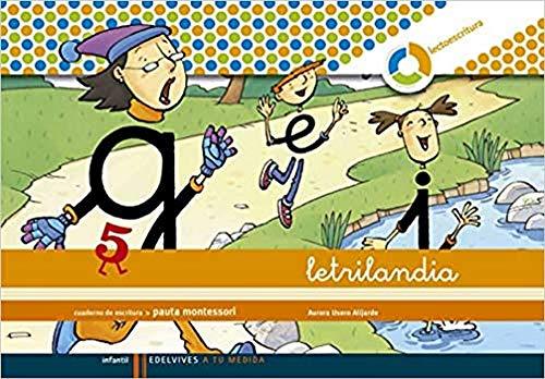 9788426371430: Letrilandia Lectoescritura cuaderno 5 de escritura (Pauta Montessori) (A tu medida (entorno lógica matemática))