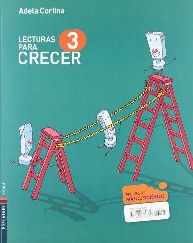 9788426374332: Lecturas para Crecer 3º Primaria (Masquecuentos) - 9788426374332