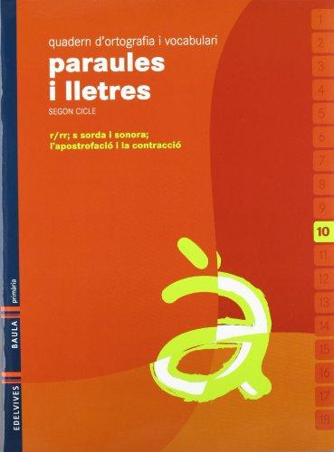 9788426374554: Quadern 10 d`ortografia i vocabulari (Paraules I Lletres)