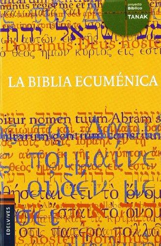 9788426374707: La Biblia Ecumenica