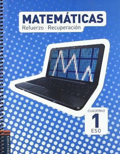 9788426374851: Cuaderno Refuerzo-Recuperacion Matematicas 1º ESO