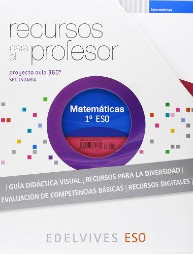 9788426375780: Recursos para el Profesor Matemáticas 1º ESO: Recursos para el Profesor Matematicas 1º ESO: 3 (Proyecto Aula 360º)