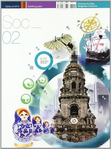 9788426378422: Aula 360º. Ciencias Sociales, Geografía e Historia, 2 ESO (Castilla-León)