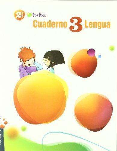 9788426379764: Cuaderno de lengua 3 / Workbook 3 Spanish Language: 2 Primaria / Second Grade of Elementary (Pixepolis) (Spanish Edition)