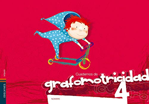9788426380180: Cuaderno 4 de Grafomotricidad