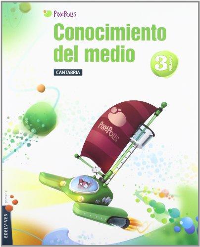 9788426383082: Conocimiento del Medio 3? Primaria (Cantabria) Tres Trimestres
