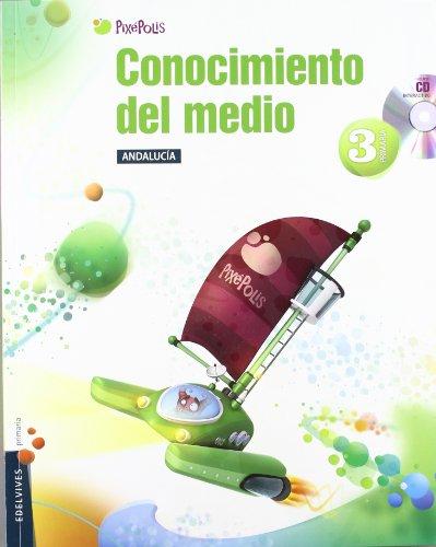9788426383136: Conocimiento del Medio 3º Primaria (Andalucia)