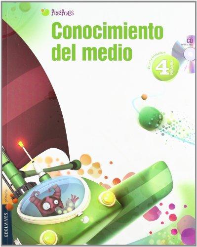 9788426383358: Conocimiento del Medio 4º Primaria (C. de Madrid) Tres Trimestres