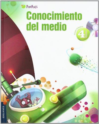 9788426383372: Conocimiento del Medio 4º Primaria (Castilla-León) Tres Trimestres