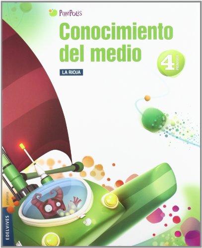 9788426383440: Conocimiento del Medio 4º Primaria (La Rioja) Tres Trimestres (Pixepolis)