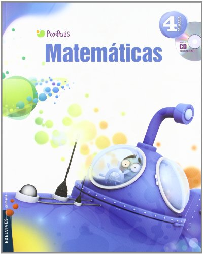 9788426385772: Matemáticas 4º Primaria (Andalucia) (Pixépolis) - 9788426385772