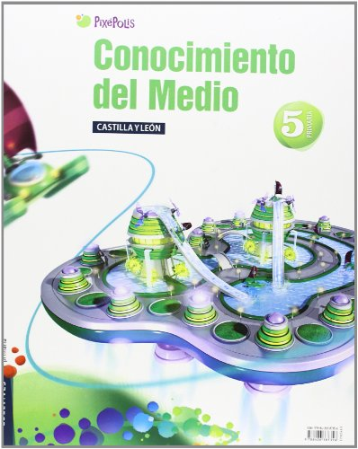 9788426387356: Conocimiento del Medio 5º Primaria (Castilla Leon) Tres Trimestres (Pixepolis) - 9788426387356