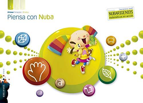 9788426388223: Piensa con Nuba (Infantil 3 años Primer Trimestre) (Nubarigenios) - 9788426388223
