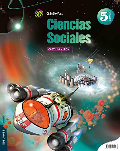 9788426393821: Ciencias Sociales 5º Primaria (Castilla Leon) (Superpixépolis) - 9788426393821