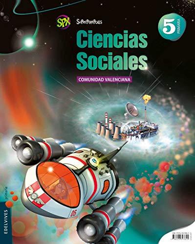9788426393845: Ciencias Sociales 5º Primaria (C. Valenciana) (Superpixépolis) - 9788426393845