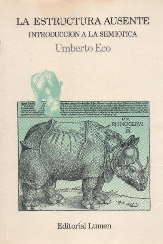 La estructura ausente: Umberto Eco