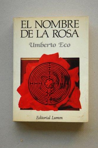 9788426411488: El Nombre de la Rosa (Palabra En El Tiempo)