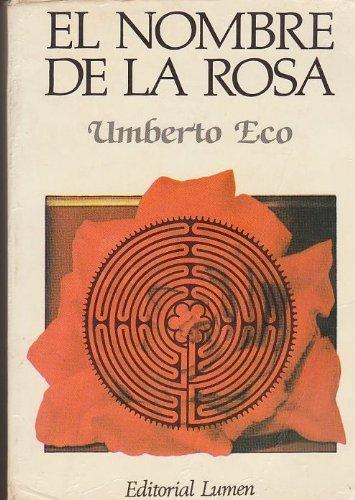 9788426411488: El Nombre De La Rosa/The Name Of The Rose