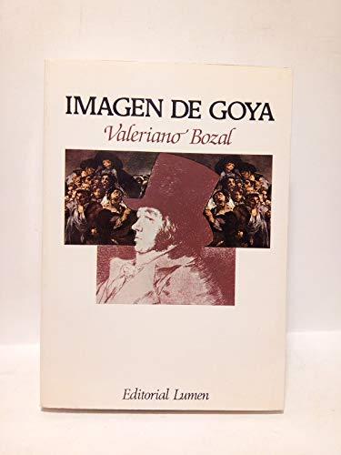 9788426411518: Imagen de Goya (Palabra en el tiempo)