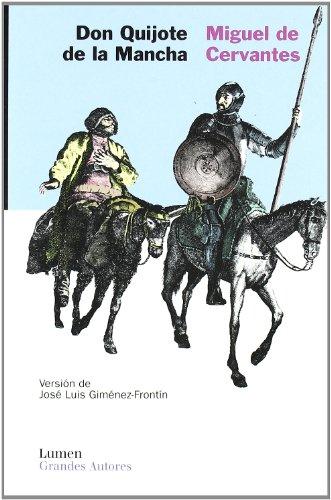 9788426414342: Don quijote de la Mancha (Grandes Autores (lumen))