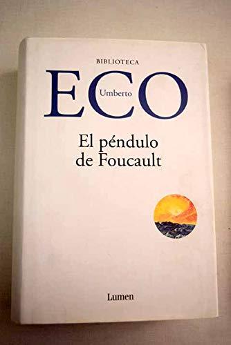 9788426414380: Pendulo de foucault, el (Biblioteca Umberto Eco)
