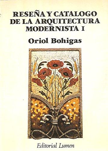 9788426419941: Reseña y catalogo de la arquitectura modernista