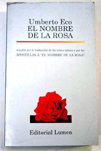 9788426426222: El nombre de la Rosa