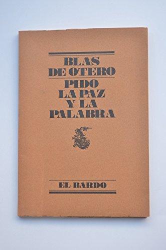 9788426427014: Pido La Paz y La Palabra (Spanish Edition)