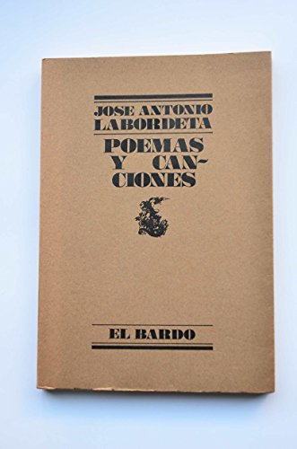 9788426427052: Poemas y canciones (El Bardo ; 105) (Spanish Edition)