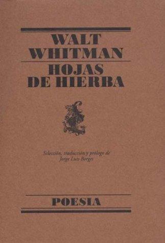 9788426427625: Hojas Hierba (Poesia (lumen))