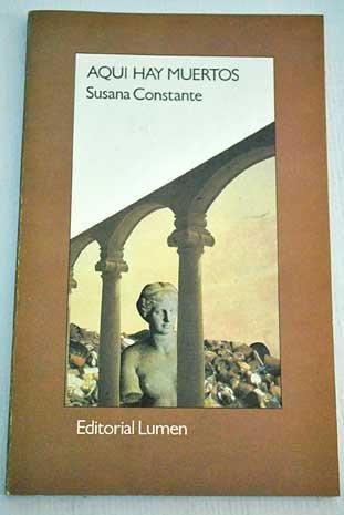 Aqui hay muertos (Palabra menor) (Spanish Edition): Constante, Susana